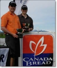 2010 Canada Bread BC Match Play Champions Kevin Hogg and Dave Zibrik