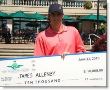 Allenby fends off a Charging Hadwin for Inaugural WCGG Pro-am Title
