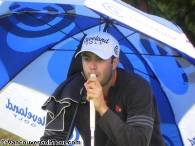 Adam Hadwin - 2010 Vancouver Open - Day 3