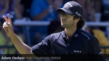 Canadian Tour Member Adam Hadwin in Contention to Win RBC Canadian Open