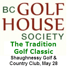 VGT Announces New Partnership with the BC Golf House Society