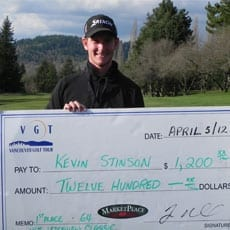 Kevin Stinson Wins at Ledgeview