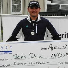 Second Win for Shin on the VGT at Nickel Heating Open