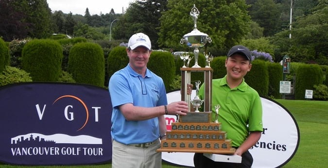 Jae Wook Lee (R) Overall Amateur Winner