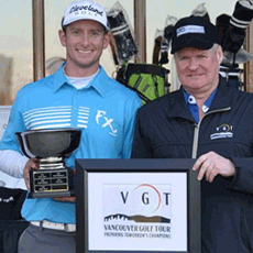 Stinson Makes it Second Pro Win at Brad Garside Open