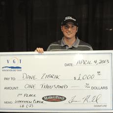 Dave Zibrik - 2013 Ledgeview Classic Winner