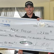 Nick Taylor - 2013 Royalwood Open