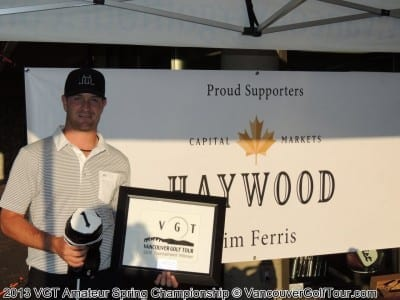 Haywood Securities VGT Spring Championship