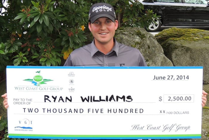 PGA TOUR Canada's Ryan Williams