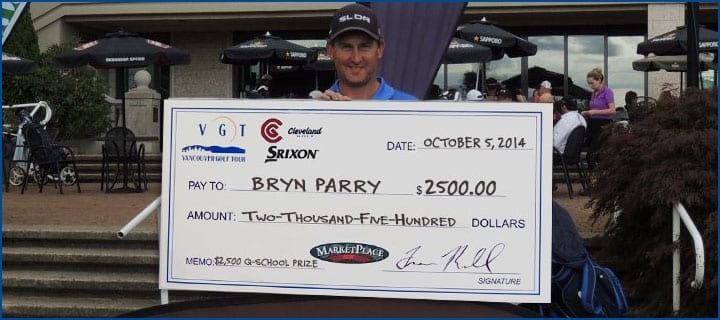 Bryn Parry 2014 CLEVELAND GOLF / SRIXON CANADA Order of Merit Champion