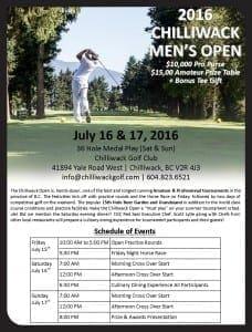 Chilliwack Men's Open