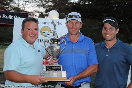 Parry Powers Through for 7th  Chilliwack Golf Club Open Win