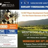 First Annual VGT Fundraising ProAm