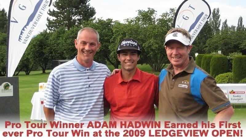 PGA TOUR WINNER ADAM HADWIN