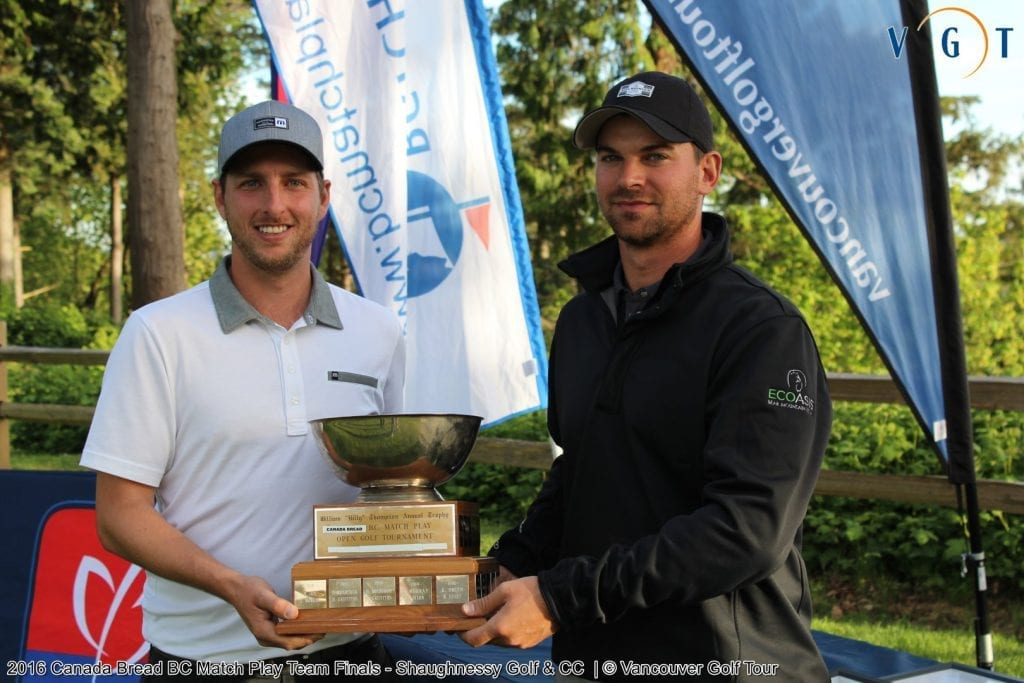 Brad Clapp (Chilliwack GC) / Riley Wheeldon (Bear Mountain)