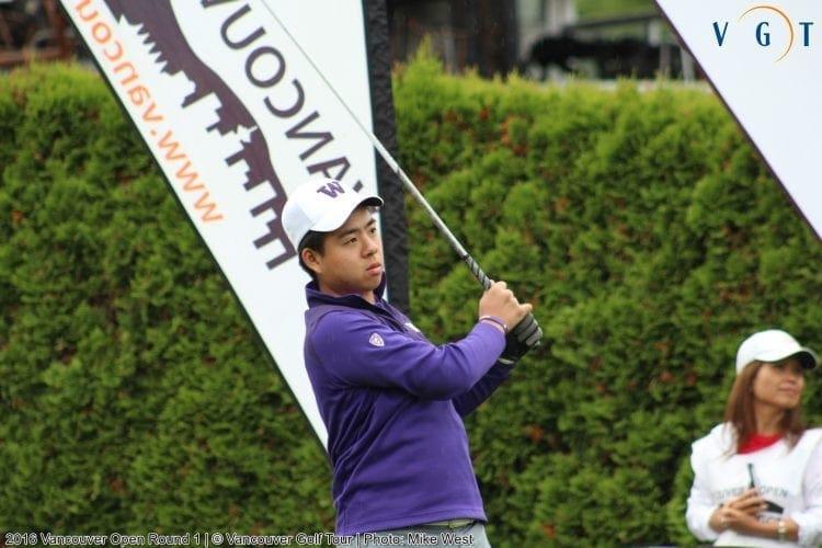 19 Year Old Jordan Lu Leads the Way thru 18 Holes at Van Open