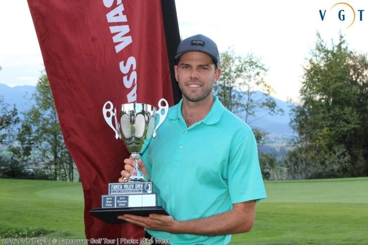 2016 Fraser Valley Open Champion Kevin Spooner
