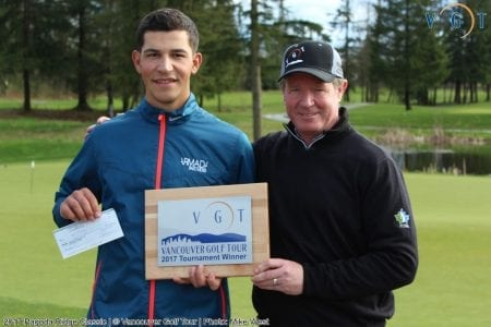 Former SFU Golf Captain Mlikotic Gets First Professional Win
