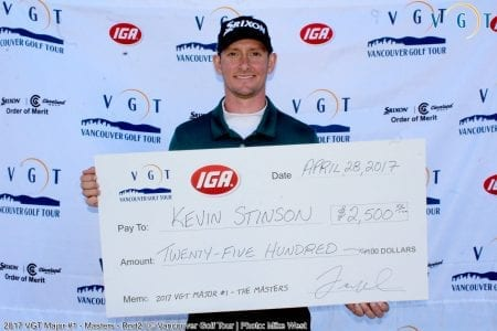 Stinson Shoots Sixty-Five on Second Day to Win VGT's First Major @ Morgan Creek