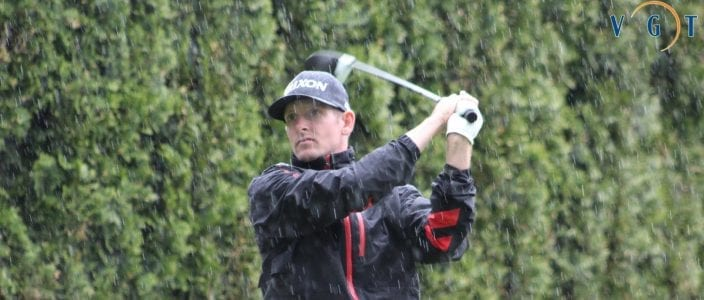 Stinson Defeats Hay in Playoff at Mission Golf Course