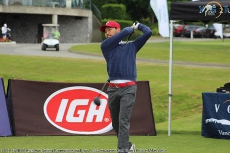 Blistering 63 in Second Round Gets the Job Done for Aizawa