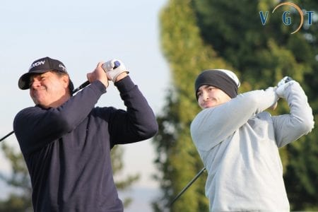 Jonas & Lamb Co-win with Rounds of 66 (-6) on the Canal