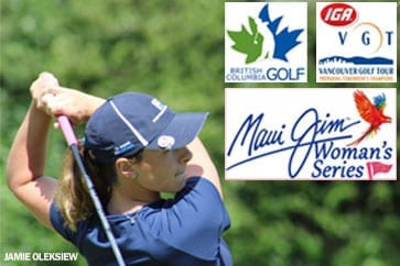MAUI JIM CANADA Elevating BC Women's Golf in 2018!