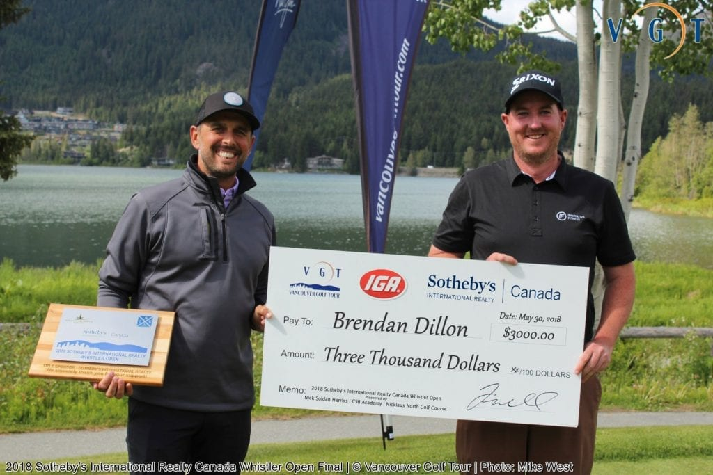 Brendan Dillon - 2018 Whistler Open Pro Winner