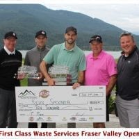 Spooner's 3rd Straight Victory at Fraser Valley Open