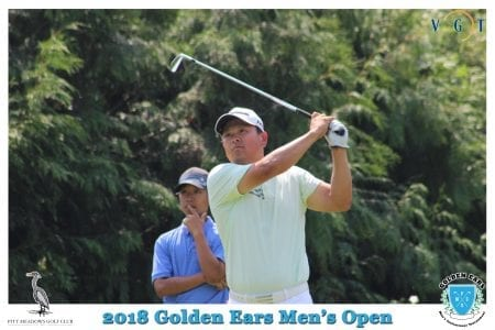 John Shin, back-2-back Golden Ears Invitational Champion