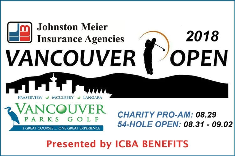 VANCOUVER OPEN returns to VANCOUVER