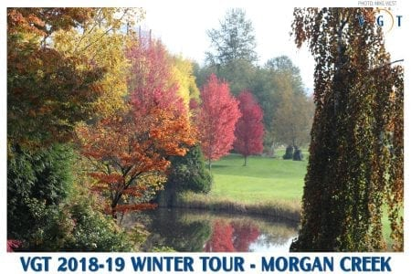 Winter Tour #2 – Morgan Creek: 3 tie at minus 3