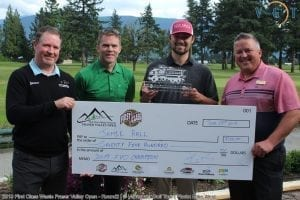 First Class Waste Inc. Fraser Valley Open - Jamie Hall