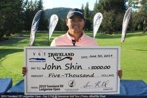 2019 Ledgeview Open Winner - John Shin