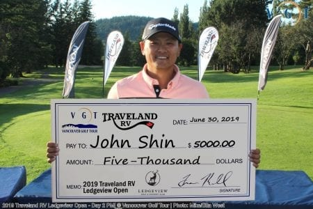 2019 Ledgeview Open Winner - John Shin