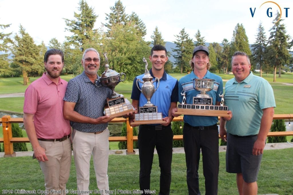 2019 Chilliwack Open - Final Winners