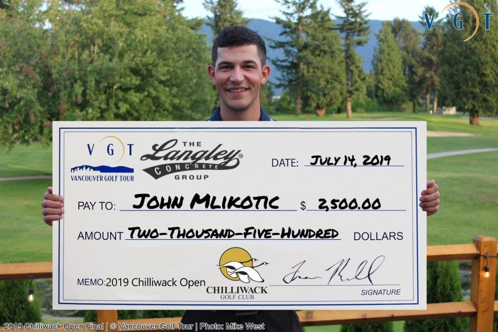 2019 Chilliwack Open - John Mlikotic