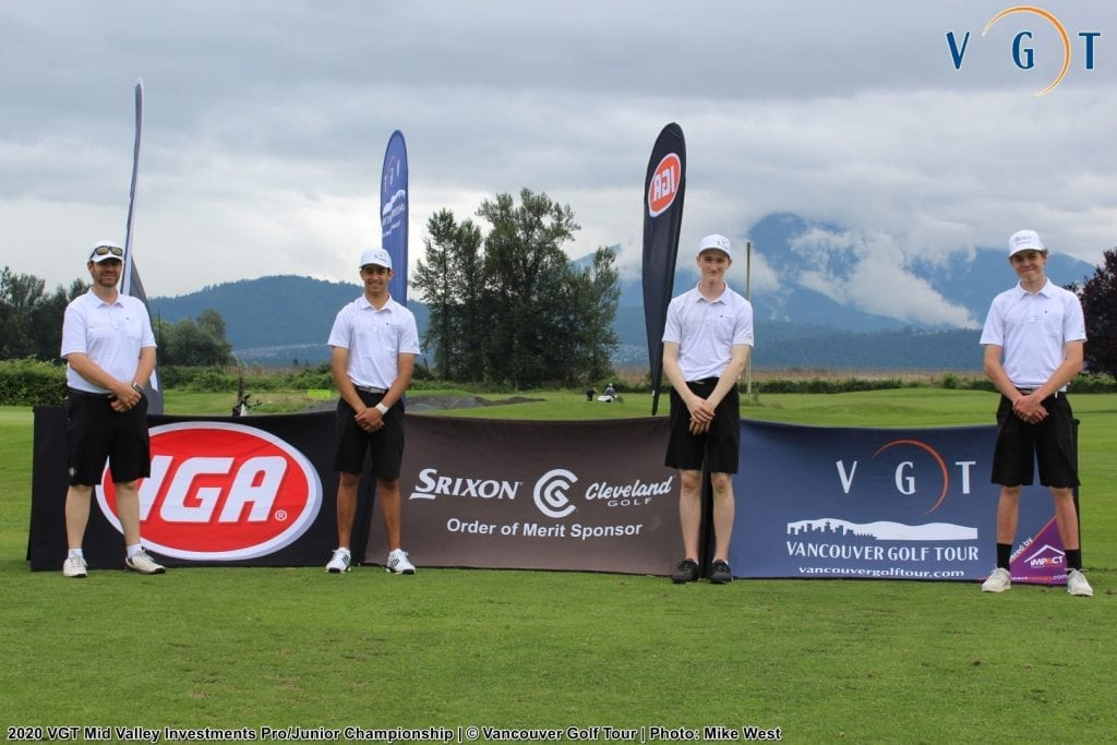 Pro-Junior Team leaderboard, the group of Lavers/Gandhi/Underwood/Jaakkola (Team BC Juniors) finished on top