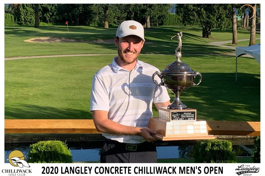 Alex Walker Overall Net Winner from Ledgeview Golf Club