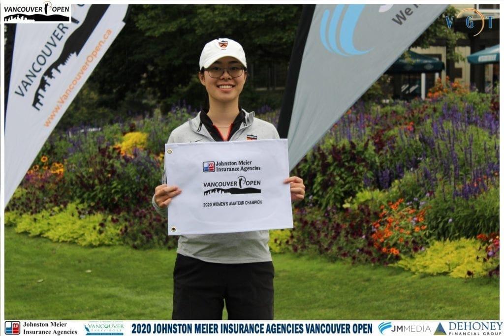 Tiffany Kong Vancouver Open Women's Amateur Champion