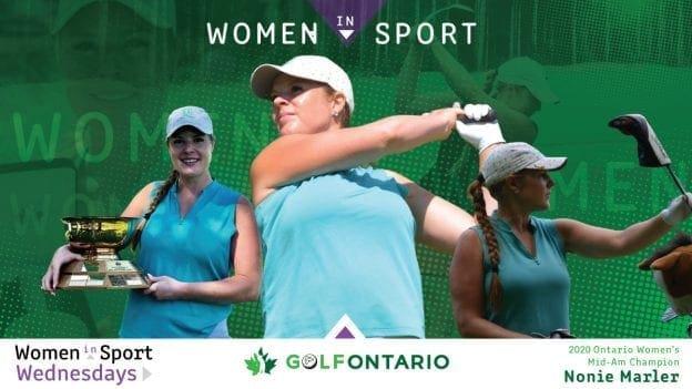 Nonie Marler   2020 Ontario Women's Mid-Amateur Champion