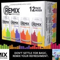 REMIX VODKA SODA Signs on as VGT's latest OFFICIAL SPONSOR